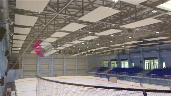 完美吸声解决方案案例:亚美尼亚冰球馆